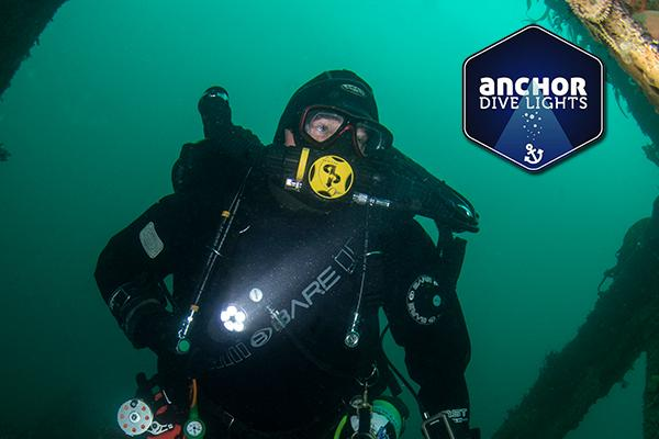Thumbnail photo for BSAC kit partner Anchor Dive Lights to sponsor Advanced Instructor Award