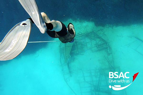 Thumbnail photo for Dive with Sophie: BSAC Freediving and other Diver Training Group (DTG) updates
