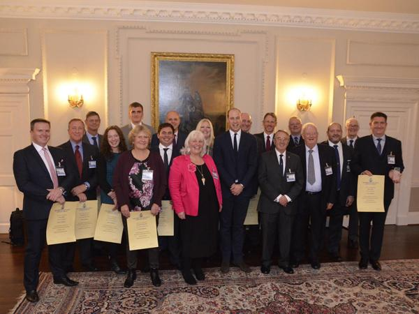 Thumbnail photo for Congratulations to the Highball Project team who received the Duke of Cambridge Scuba Award