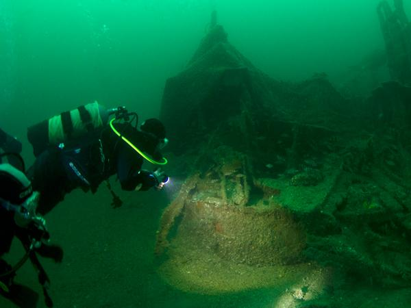 Thumbnail photo for Get involved in Normandy 75 diving expedition