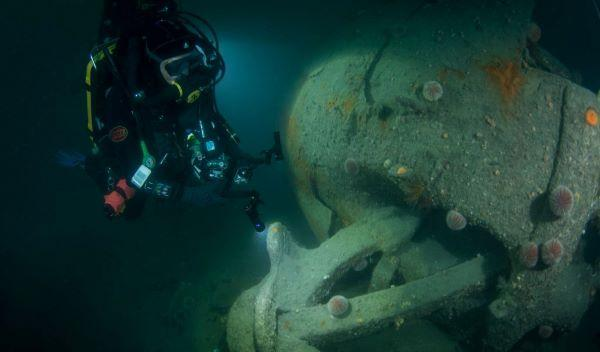 Thumbnail photo for BSAC commemorates Scapa 100th Anniversary
