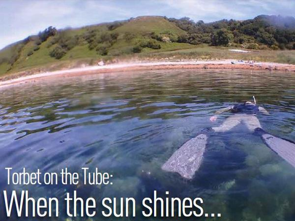 Thumbnail photo for Torbet on the Tube: Snorkel when the sun shines…