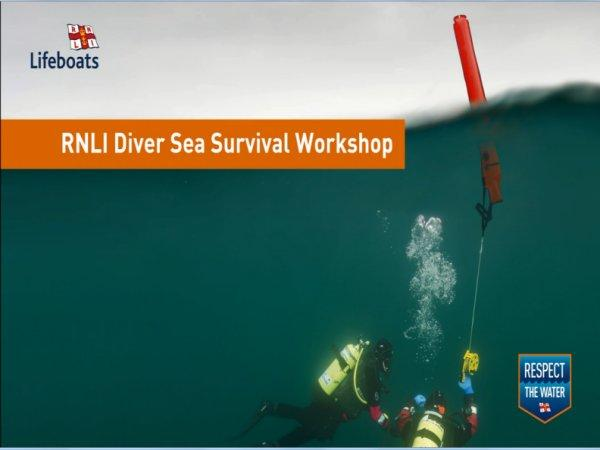 Thumbnail photo for RNLI Diver Sea Survival Workshop ready for delivery