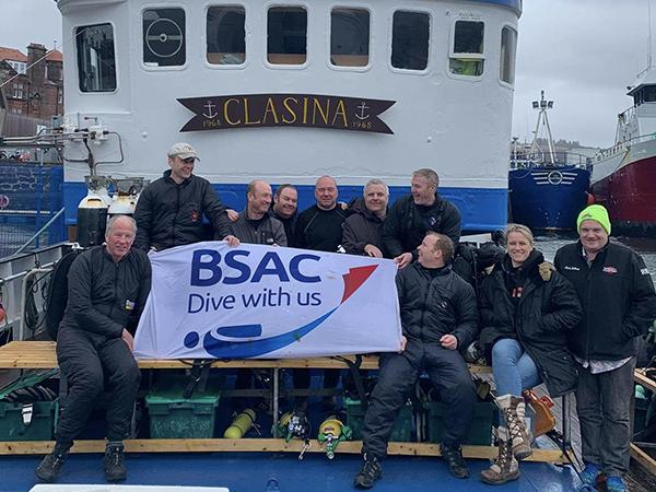 Thumbnail photo for First Advanced Diver training expedition a great success