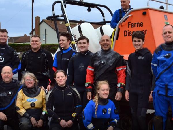 Thumbnail photo for Scuba diving with Barnsley BSAC Divers Farne Islands