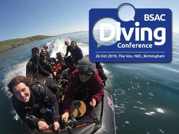 Save the date for BSAC Diving Conference - Saturday 26th October 2019