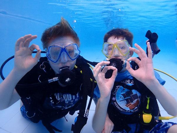 Thumbnail photo for BSAC opens up diver training to 10-year-olds