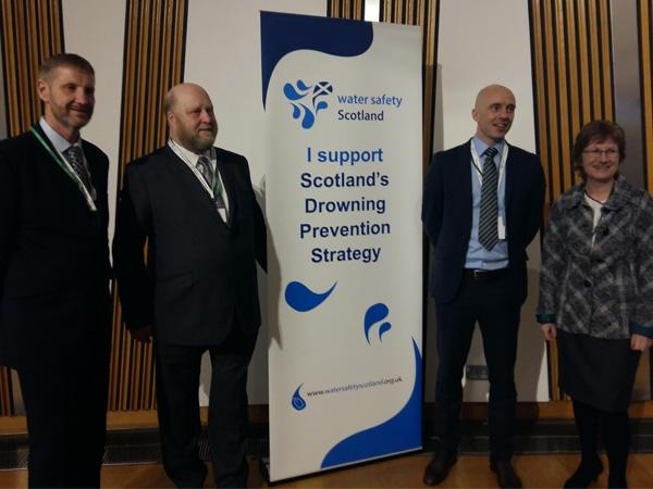 BSAC supports launch of Scottish Drowning Prevention Strategy