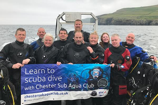 Thumbnail photo for Chester Sub-Aqua Club awarded BSAC's premier trophy