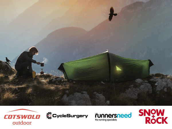 Thumbnail photo for NEW! Savings with Cotswold Outdoor, Cycle Surgery, Runners Need and Snow+Rock