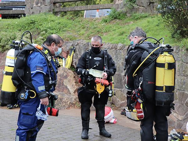 Thumbnail photo for 10 tips for Covid-secure diver training