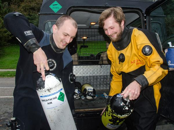 Thumbnail photo for Success with scuba diving cylinder testing campaign just one step away