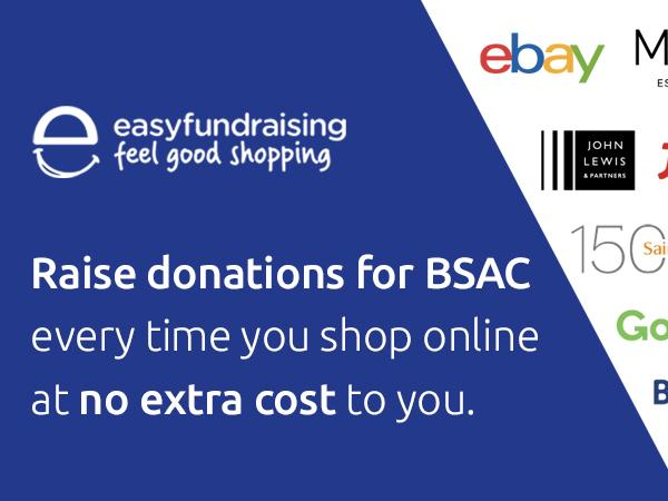 Thumbnail photo for Raise money for BSAC while you shop with Easy Fundraising scheme