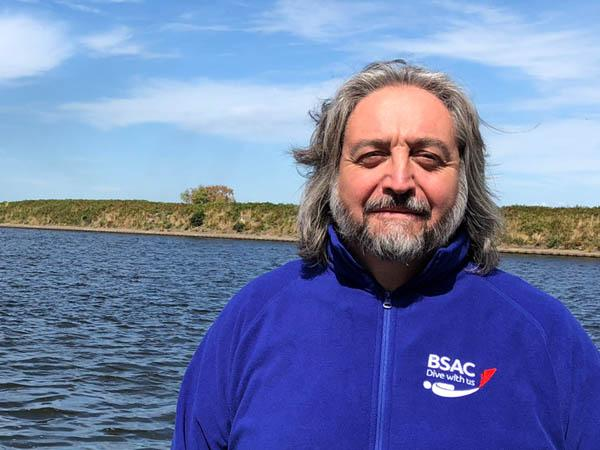 New Diving Support Advisor for BSAC, Geoff Bacon