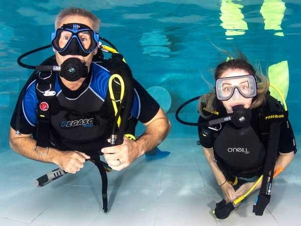 How to fill an Ocean Diver course