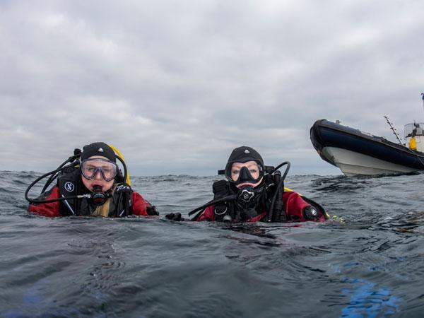 Thumbnail photo for Let's celebrate women in scuba diving