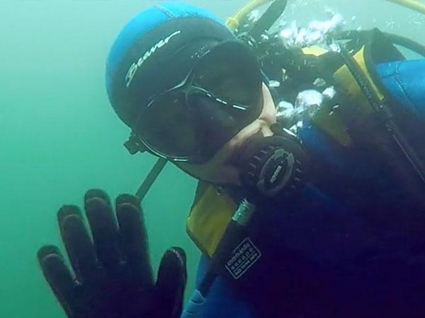 First open water dives for Loughborough uni club Ocean Divers