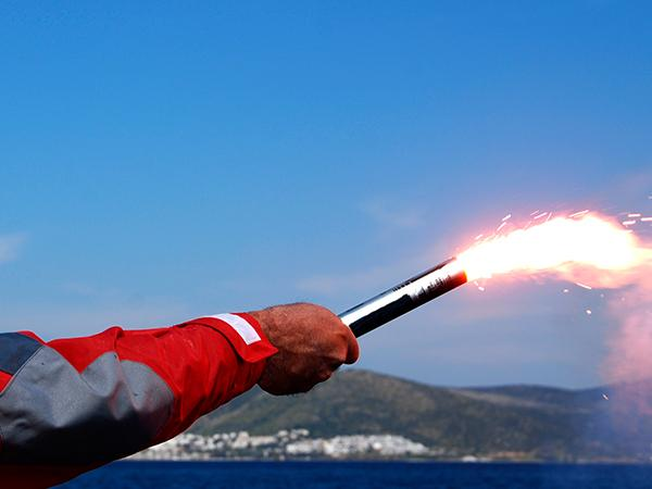 Thumbnail photo for Government consultation on safe disposal of time-expired pyrotechnics (flares)