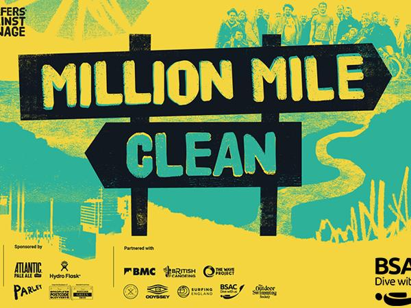 Thumbnail photo for BSAC brings underwater element to Surfers Against Sewage's Million Mile Clean