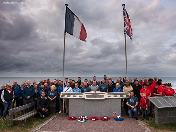 Thumbnail photo for BSAC's Normandy 75 Expedition marks D-Day landings