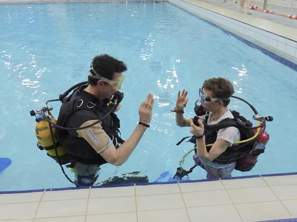 Thumbnail photo for New BSAC support for clubs waiting to return to their pools