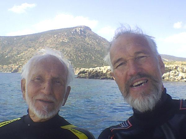Thumbnail photo for Could scuba diving be the key to longevity?