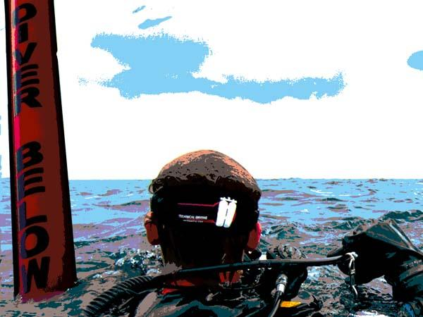 Thumbnail photo for Learning curve: RNLI Diver Sea Survival workshop