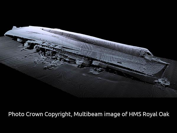 Thumbnail photo for Dive Team Announce HMS Royal Oak 80 Wreck Survey