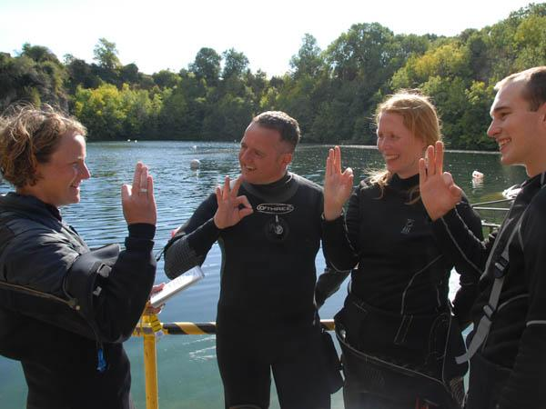 Continual development for divers and instructors