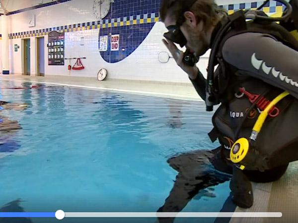 Thumbnail photo for My Ocean Diver Journey – video from the BBC