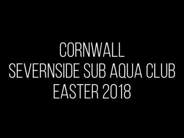 Thumbnail photo for Scuba diving with Severnside Sub Aqua Club Easter 2018