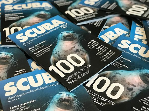 Thumbnail photo for 100th issue of SCUBA magazine available to all