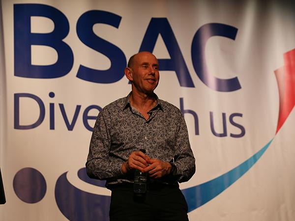 Thumbnail photo for Professor Simon Mitchell talks 'The shortest road to increased safety in diving'