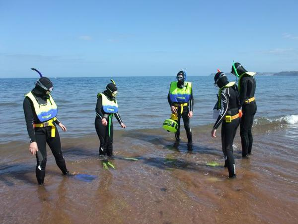 Thumbnail photo for How to stay safe when snorkelling in the UK