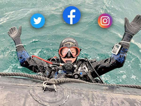 Thumbnail photo for Scuba diver? Social media professional? Work with us!