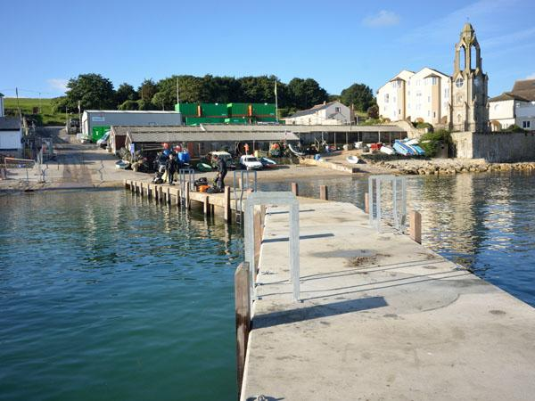 Thumbnail photo for Swanage beyond the pier