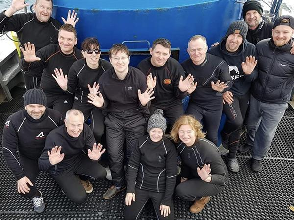 Thumbnail photo for A warm welcome to scuba club Tees Valley