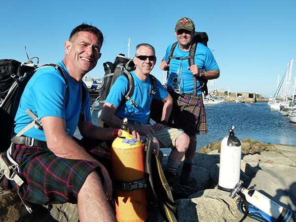 Thumbnail photo for Burghead Sub-Aqua Club to take on the Three Lakes Challenge for the RNLI