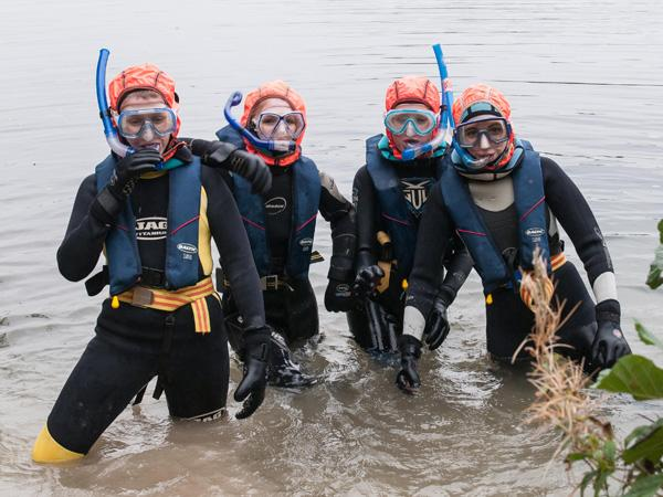Thumbnail photo for Torbet on the Tube: The etiquette of group snorkelling