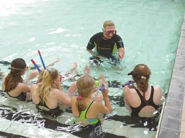 Thumbnail photo for A flying start to ASA and BSAC Dolphin Snorkel Instructor programme