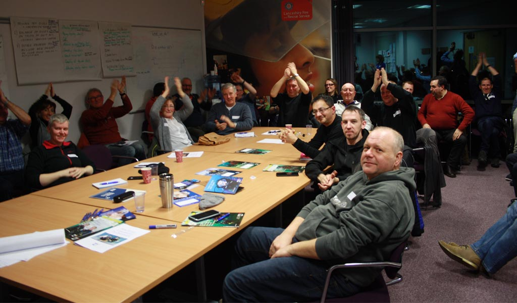 BSAC North West regional club recruitment workshop