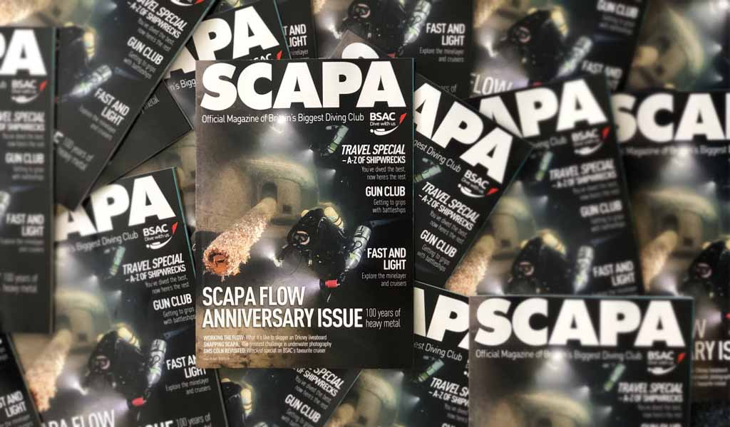 SCAPA - BSAC special issue of SCUBA magazine