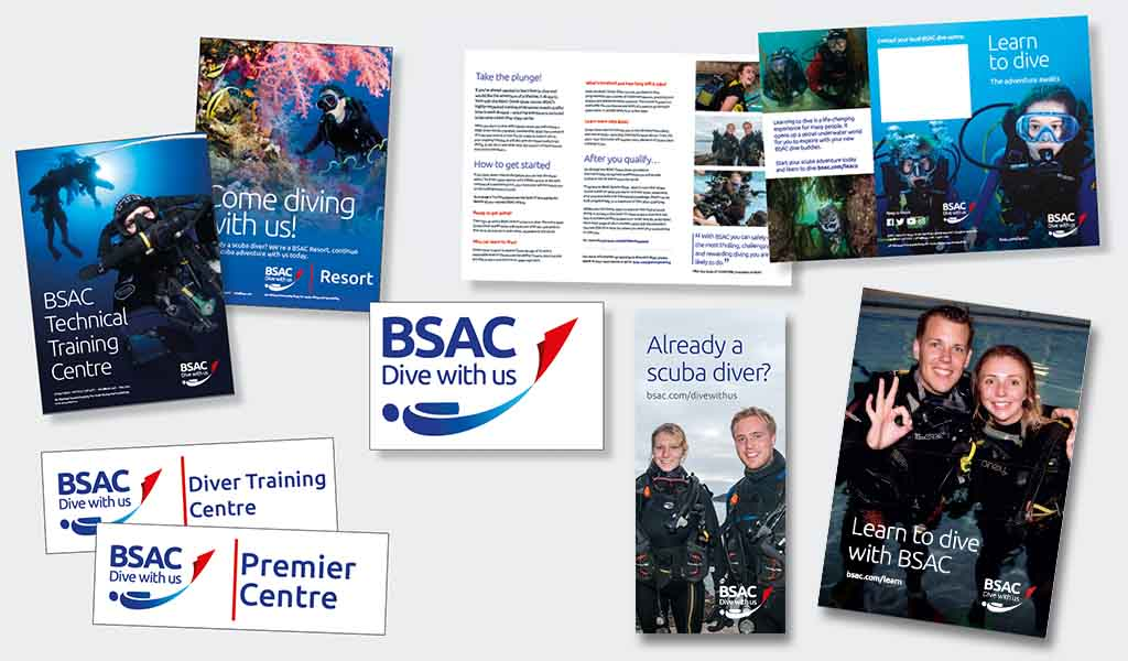 BSAC centres promo materials support