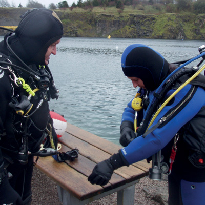 Dive planning and thorough buddy check  400x400
