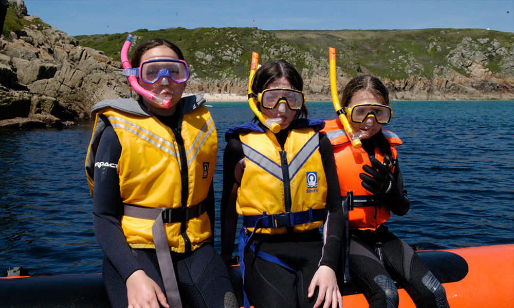 snorkelling in the UK - three young snorkellers.jpg